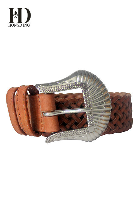 Ladies Braided Belts:Western Waist And Hip Belt