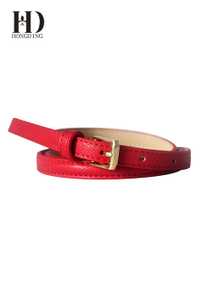 Fashion red waist belt for women