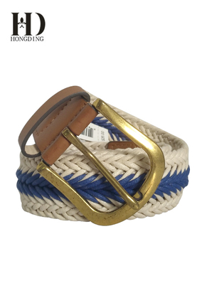 Men's Cotton braided Belts
