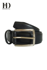Designer leather belts for men