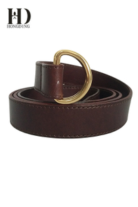 Stylish tan leather belts for men