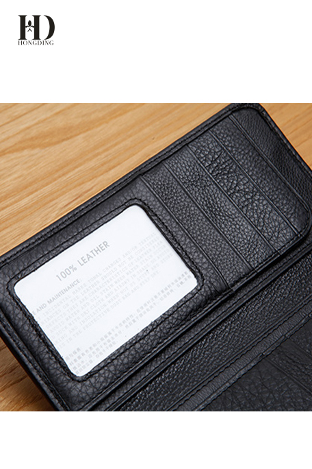 Long Leather Wallets for Men