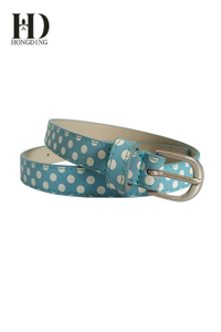 Girls belts with round-shaped decoration