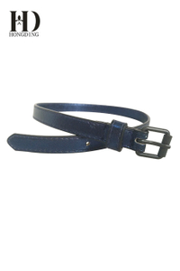 Shining PU belts for girls