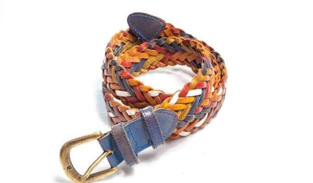 fabric leather belts