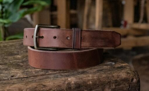 How To Produce A Hot Sale Leather Belt?